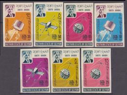 1966Aden Kathiri States Of Seiyun84-90bSatellite - Telstar 30,00 € - Raumfahrt