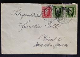 CZECHOSLOVAKIA,  Circulated Cover To Austria, Marianske, 1925 - Covers & Documents