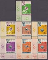 1966Aden Kathiri States Of Seiyun84-90TabSatellite - Telstar 22,00 € - Raumfahrt