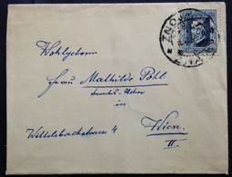 CZECHOSLOVAKIA,  Circulated Cover To Austria, Znojmo, 1925 - Covers & Documents