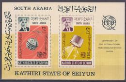 1966Aden Kathiri States Of Seiyun87-88/B1Satellite - Telstar 12,00 € - Raumfahrt