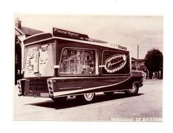 PHOTOGRAPHIE ORIGINALE N&B - TOUR DE FRANCE - VEHICULE PUBLICITAIRE - PUB PUBLICITÉ:  OUEST FRANCE JOURNAL  - 1960 - Automobile