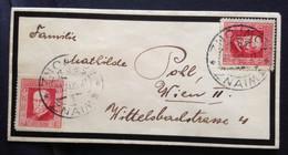 CZECHOSLOVAKIA,  Znaim (Znojmo), Circulated Cover To Austria, 1925 - Covers & Documents