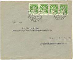TCHECOSLOVAQUIE ENV 1923 AUSSIG LETTRE => ALLEMAGNE - Covers & Documents