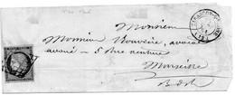 T.P.N°4 Sur L.S.C. De TARASCON Sur Rhône Le 24/9/51. - 1849-1876: Klassieke Periode
