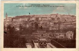 6GM 21 CPA - ANGOULEME - PANORAMA - Angouleme