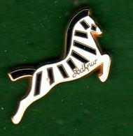Pin's Cheval Zebre Habits Jodhpur Zamac A.B  A.B - Arthus Bertrand