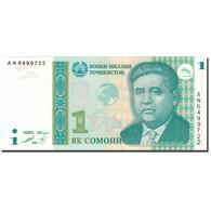 Billet, Tajikistan, 1 Somoni, 1999, 1999, KM:14A, NEUF - Tajikistan