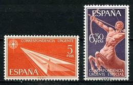 ESPAGNE 1956 Exprès N° 34/35 ** Neufs MNH Superbes C 0.75 € Flèche Centaure - Correo Urgente