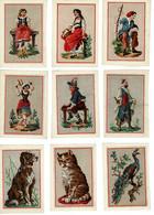 40 Images Modèles Canevas : Personnages, Animaux, Paysages, Fleurs Etc - Dimensions Cadres 10,1x 6,7cm - Tapijten