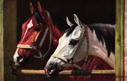 Pferd, Pferde, Sign. Künstlerkarte, Um 1910 - Pferde