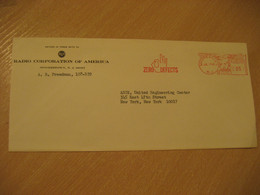 MOORESTOWN 1965 Radio Corporation Zero Defects Maths Mathematics Matematiques Meter Mail Cancel Cover USA - Altri