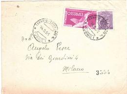 ANNULLO TARANTO CATANZARO TURNO 1 - 1946-60: Marcofilia