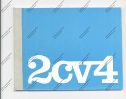AUTOMOBIL - CITROEN 2CV4 Handbuch, 53 Seiten, Sehr Gute Erhaltung - Shop-Manuals