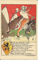 Fons Claerhoudt Illustrator WW1 WWI World War 1 Vlaamse Beweging Belgian Relief Fund Gedicht G. De Smet - Sin Clasificación