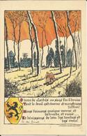 Fons Claerhoudt Illustrator WW1 WWI World War 1 Vlaamse Beweging Fonds De Secours Belge Gedicht G. De Smet - Sin Clasificación