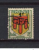 REUNION - Y&T N° 287° - Blason Auvergne - Gebraucht