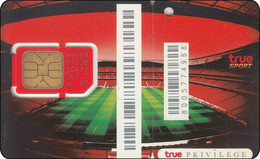 Thailand  Phonecard GSM Card TRUE Mint Football Stadion - Thailand