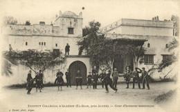 PC CPA ALGERIA, EL BIAR, COUR D'HONNEUR MAURESQE, J. GEISER, (b8383) - Other Cities