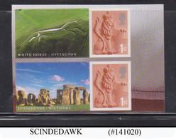 GREAT BRITAIN - 2007 STONEHENGE & WHITE HORSE - 2V - MNH SELF-ADHESIVE STAMPS - 1952-.... (Elizabeth II)
