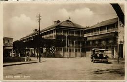 PC CPA MOZAMBIQUE / PORTUGAL, SAVOY HOTEL, BEIRA, VINTAGE POSTCARD (b13398) - Mozambique