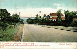 PC CPA MOZAMBIQUE / PORTUGAL, DELAGOA BAY, AVE. CASTILHO, (b13388) - Mozambique