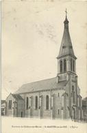 51 SAINT MARTIN SUR LE PRE L'EGLISE CIRCULEE 1906 - Other Municipalities