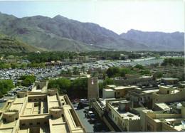 PC CPA OMAN, A'DAKHLIYAH STREET SCENE, REAL PHOTO Postcard (b16705) - Oman