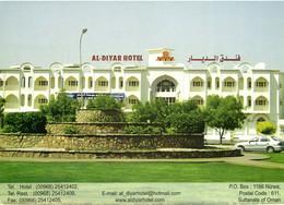 PC CPA SULTANATE OF OMAN, AL DIYAR HOTEL, REAL PHOTO Postcard (b16706) - Oman