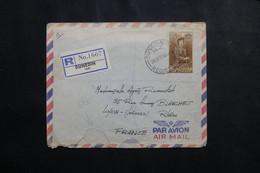 NOUVELLE ZÉLANDE - Enveloppe En Recommandé De Dunedin En 1957 Pour La France - L 73823 - Briefe U. Dokumente