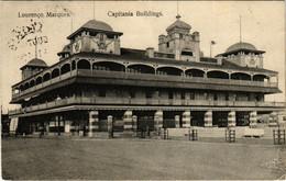 PC CPA MOZAMBIQUE / PORTUGAL, CAPITANIA BUILDINGS, VINTAGE POSTCARD (b13390) - Mozambique