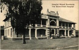 PC CPA MOZAMBIQUE / PORTUGAL, GOVERNMENT HOSPITAL, VINTAGE POSTCARD (b13413) - Mozambique