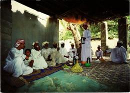 PC CPA SULTANATE OF OMAN, COFFEE TIME, REAL PHOTO POSTCARD (b16352) - Oman