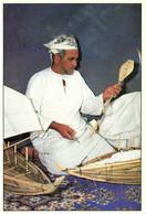 PC CPA SULTANATE OF OMAN, TRADITIONAL CRAFTSMAN, REAL PHOTO Postcard (b16708) - Oman
