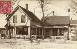 PC CPA US, MAINE, ANSON, STREET VIEW, Vintage REAL PTOHO Postcard (b17157) - Autres