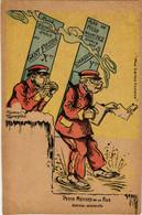 PC CPA FRENCH PROPAGANDA, SATIRE, WW1, PETITS MÉTIERS, (b16816) - Heimat