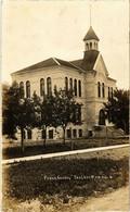 PC CPA CANADA, OAK LAKE, PUBLIC SCHOOL 1914, REAL PHOTO POSTCARD (b6230) - Ohne Zuordnung