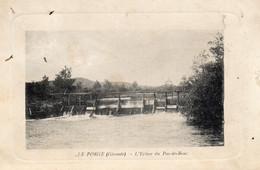 LE PORGE L'Ecluse Du Pas De Bouc - Otros Municipios