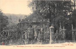 21-MONTBARD- LA VILLA DES FLEURS, AU COUARD, CURIEUSE ORIGINALITE - Montbard