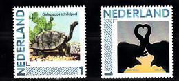 Nederland Persoonlijke Zegels:animals: Galapagos Schilpad, Olifant, Turtle, Elephant - Period 2013-... (Willem-Alexander)