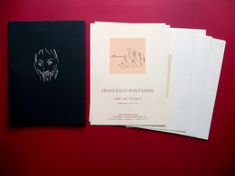 Francesco Fontanesi Studi Sul Vangelo 16 Serigrafie Presentazione Sandro Chesi - Libri, Riviste, Fumetti
