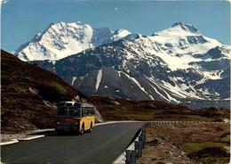 Simplonpass, Fletschhorn (44702) * 24. 7. 1972 - Postautobus - VS Valais