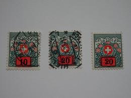 Sevios / Zwitserland / **, *, (*) Or Used - Portomarken