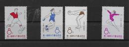 CHINA-CINA  1963  ** MNH LUSSO   MICHEL N.RI 760/763  4 VALORI    C430A - Nuevos