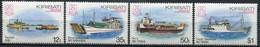 Kiribati Mi# 439-42 Postfrisch MNH - Ships - Kiribati (1979-...)