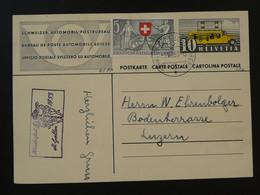 Kinderfest 1953 St-Gallen Sur Entier Postal Bureau De Poste Automobile Suisse - Ganzsachen