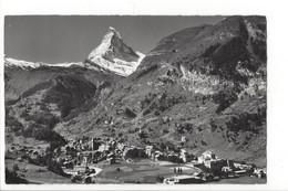 25881 - Zermatt Mit Matterhorn + Cachet Feldpost - VS Valais