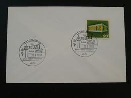 Oblitération Sur Lettre Postmark On Cover Rallye International Police Dortmund Europa 1969 - Policia – Guardia Civil