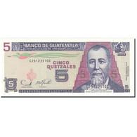 Billet, Guatemala, 5 Quetzales, 2006, 2006-11-22, KM:106b, NEUF - Guatemala