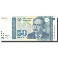Billet, Tajikistan, 50 Somoni, 1999, 1999, KM:18a, NEUF - Tajikistan